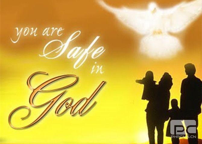 You are save in God 2.jpg